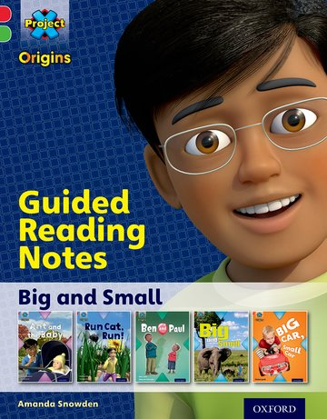 Big and Small: Guided reading notes