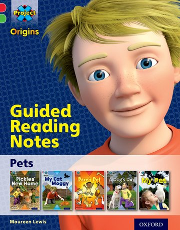 Pets: Guided reading notes