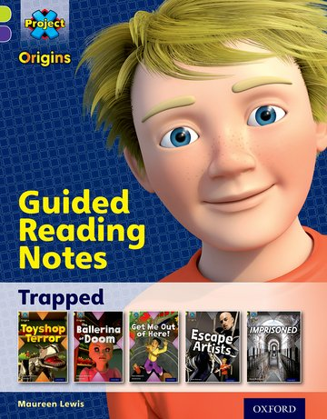 Trapped: Guided reading notes