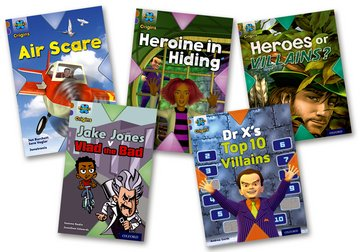 Heroes and Villains: Mixed Pack of 5