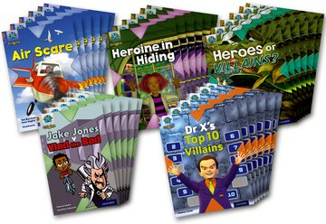 Heroes and Villains: Class Pack of 30