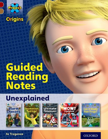 Unexplained: Guided reading notes