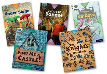 Knights and Castles: Mixed Pack of 5