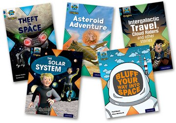 Space: Mixed Pack of 5