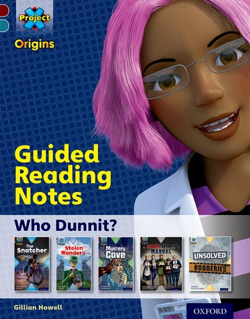 Who Dunnit: Guided reading notes